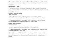Business Proposal Templates Examples  Business Proposal Template regarding Written Proposal Template