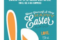 Coloring  Easter Bunny Printable Photo Ideas Letter From The with regard to Letter To Easter Bunny Template