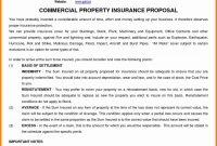 Commercial Insurance Proposal Template Elegant Mercial Proposal For Insurance Proposal Template