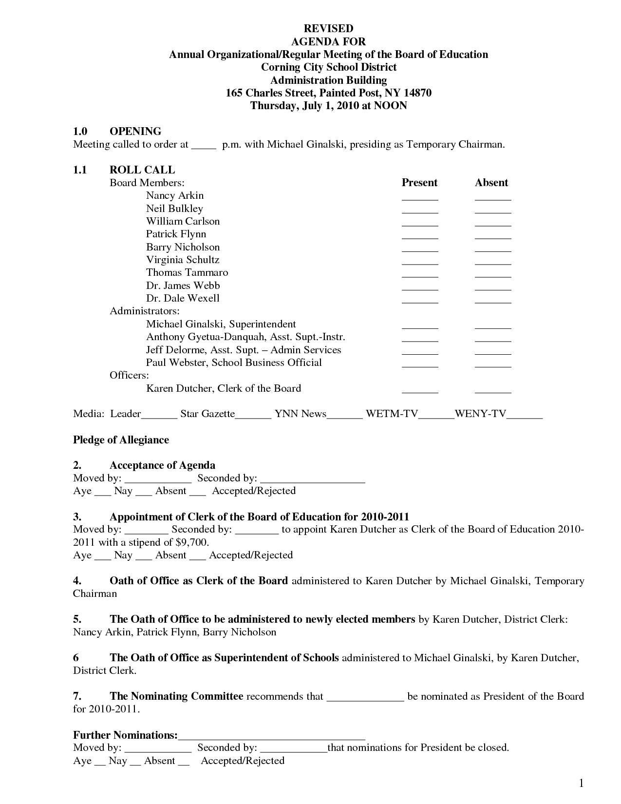 Condo Meeting Minutes Template  Monzaberglaufverband Throughout Board Of Directors Meeting Agenda Template