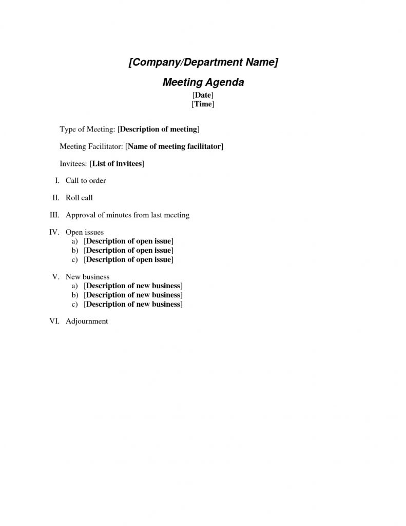 Conference Call Agenda Template Word How To Create Effective Regarding Conference Call Agenda Template