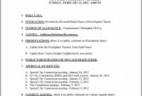 Consent Agenda Example – Template  Resume Examples Pvkqywko regarding Consent Agenda Template
