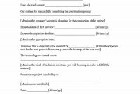 Construction Proposal Template  Construction Bid Forms pertaining to Technical Proposal Template