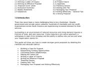 Cover Letter Sample Non Profit  Nonprofit Cover Letters Sample intended for Non Profit Proposal Template