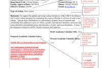 Curriculum Proposal Form Examples with regard to Course Proposal Template