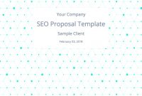 Easytouse Seo Proposal Template To Win Clients It's Free regarding Seo Proposal Template