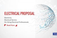 Electrical Proposal Templates  Pdf Word  Free  Premium Templates throughout Electrical Proposal Template