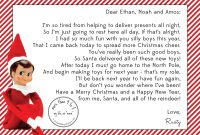 Elf On A Shelf Goodbye Letter Free Printable – Orek with Goodbye Letter From Elf On The Shelf Template