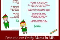 Elf On The Shelf Letters Free Printables  Crafty Mama In Me inside Goodbye Letter From Elf On The Shelf Template