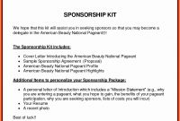 Event Sponsor Proposal Template For Sponsorship Levels Bunch Ideas with regard to Racing Sponsorship Proposal Template
