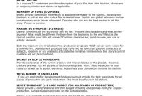 Film Proposal Templates For Your Project  Free  Premium Templates for Funding Proposal Template