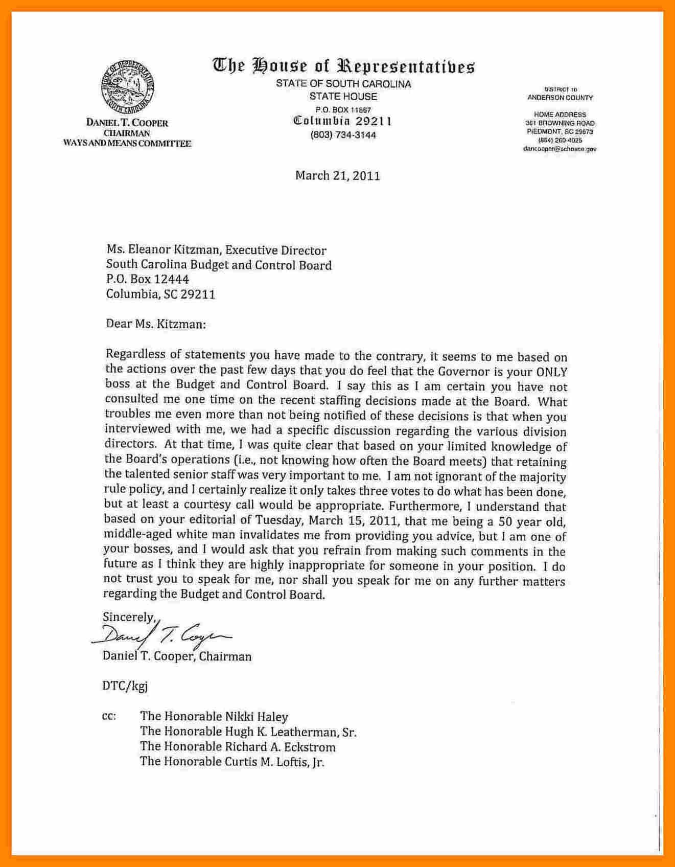 Financial Aid Appeal Letter For Bad Grades Sample  Appeal Letter Intended For Financial Aid Appeal Letter Template