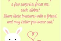 Free Easter Printables Notes From The Easter Bunny   Craft Ideas in Letter To Easter Bunny Template