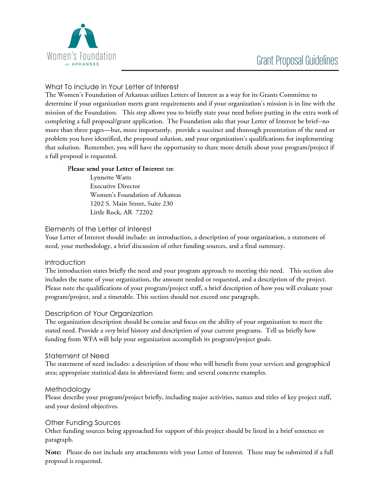 Free Letter Of Interest Templates  Letter Of Interest Grant Intended For Nsf Proposal Template