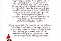Goodbye Elf Shelf Letter  New Calendar Template Site  Elf On The regarding Elf On The Shelf Goodbye Letter Template