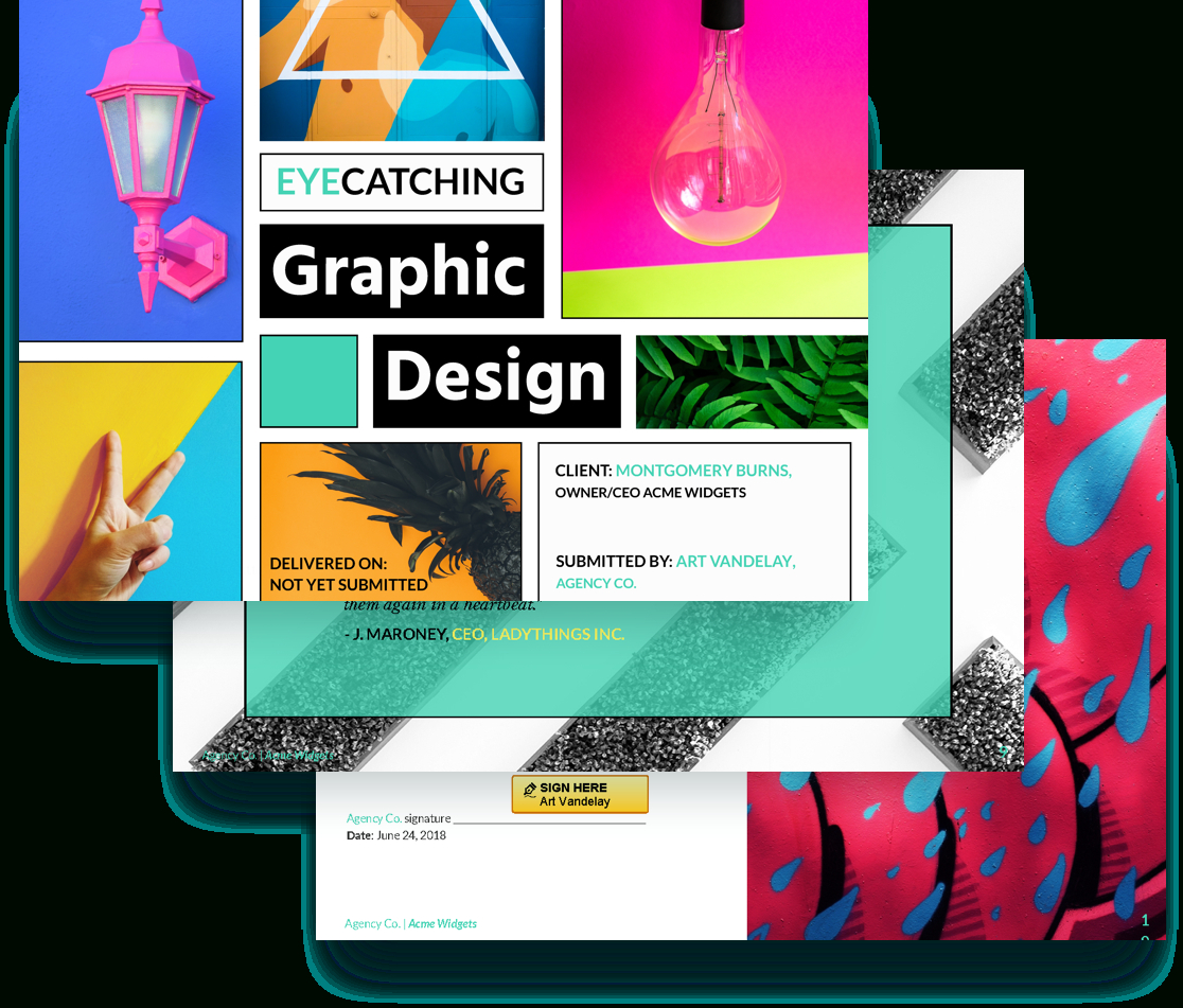 Graphic Design Proposal Template  Proposify with Graphic Design Proposal Template