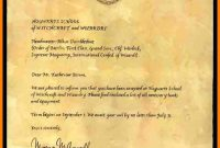 Harry Potter Letter Background  Managementoncall regarding Harry Potter Letter Template