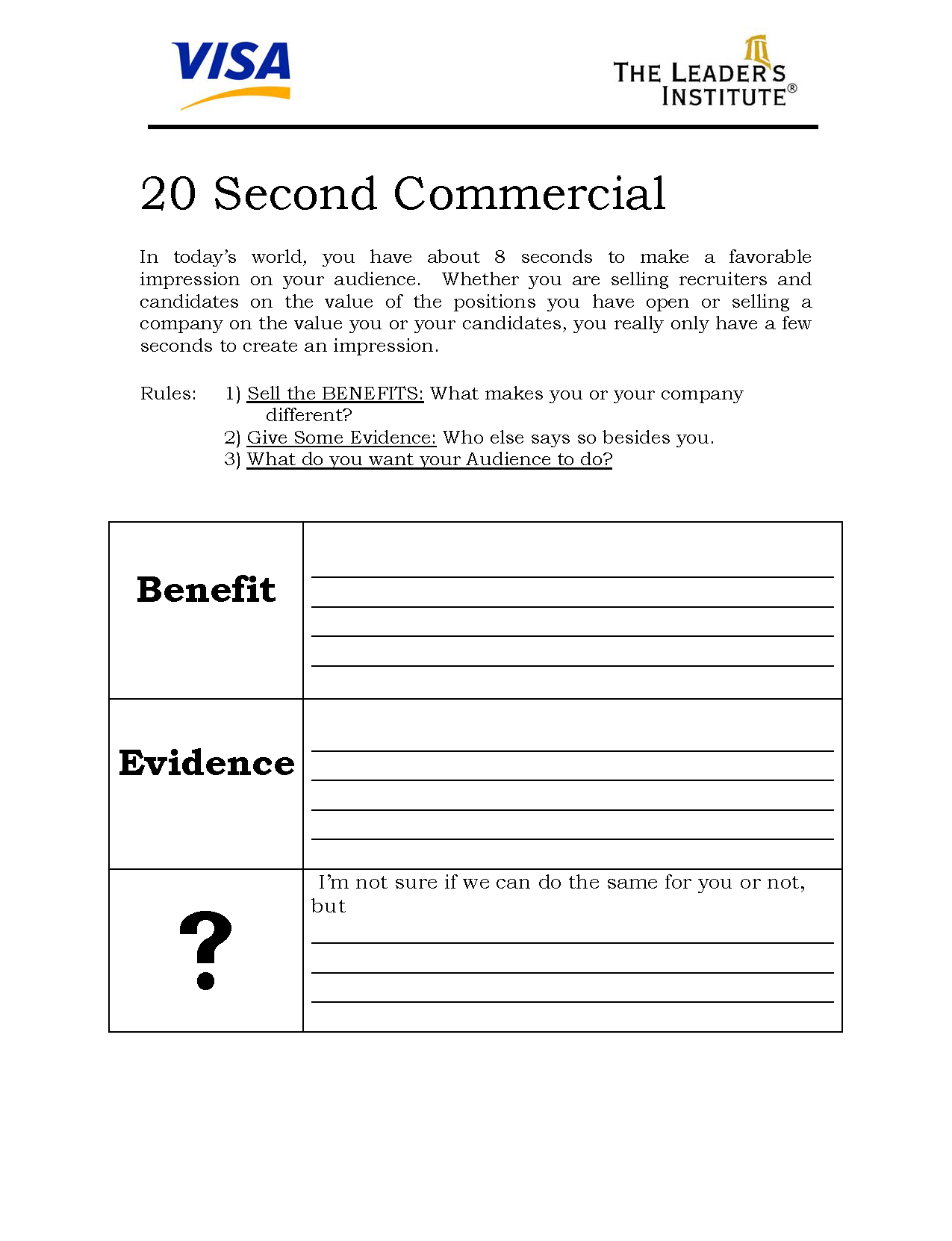 How To Create The Perfect Presentation Handout In Presentation Handout Template