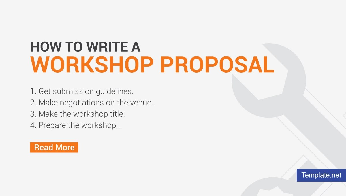 How To Write A Workshop Proposal  Pdf Word  Free  Premium Templates Within Workshop Proposal Template
