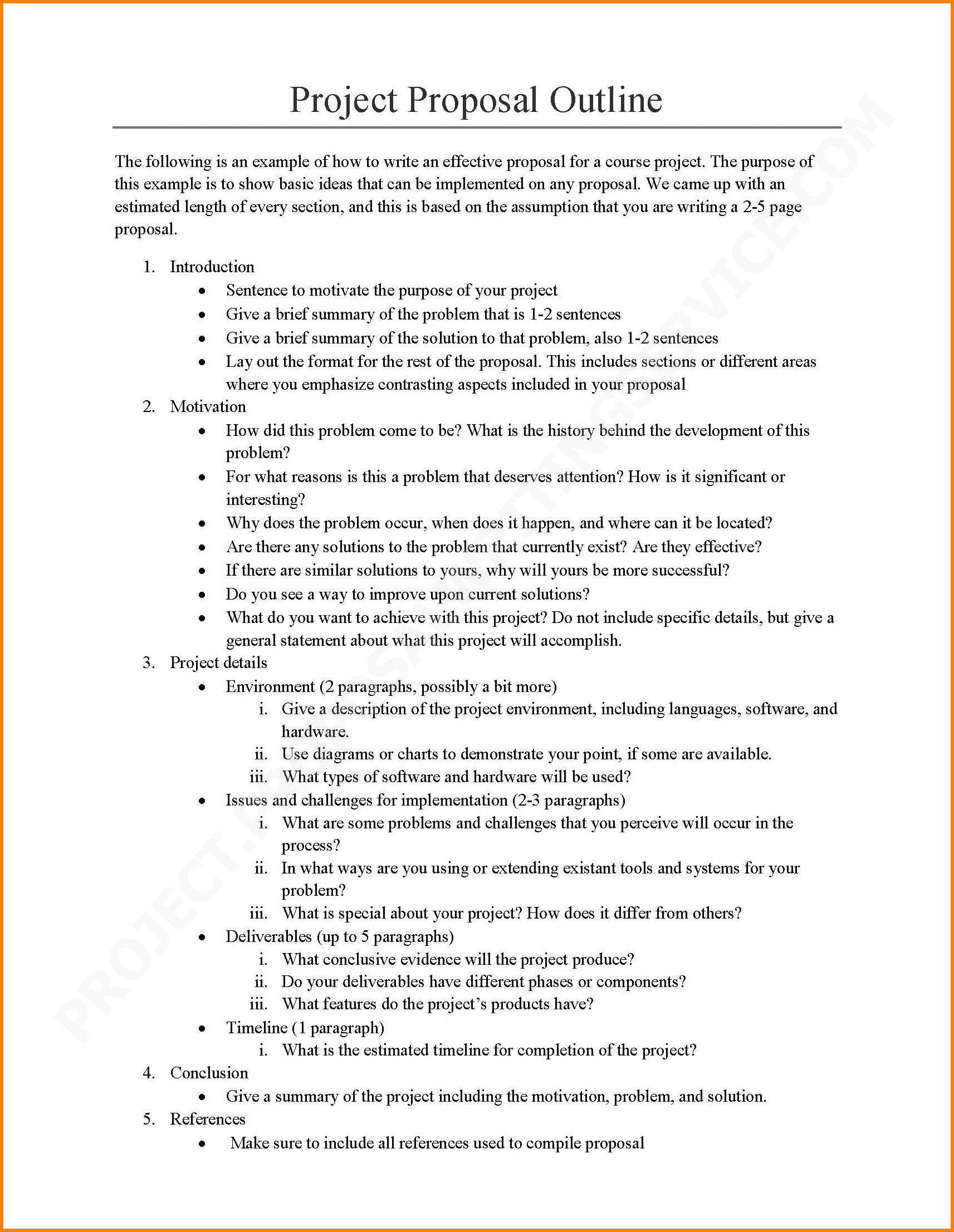 Image Result For Project Proposal For Students Template  Avid With Regard To Sample Business Proposal Template