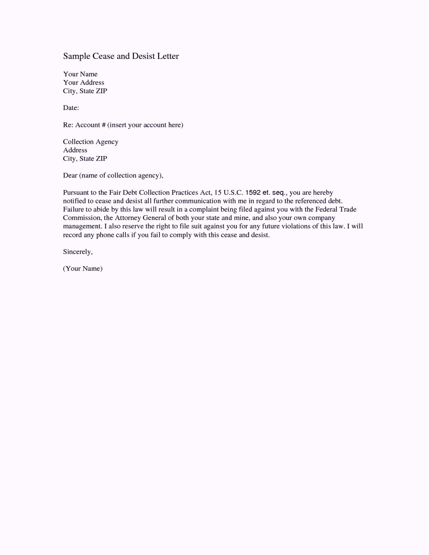 Images Of Slander And Defamation Letter Template  Zeept Pertaining To Cease And Desist Letter Template Defamation