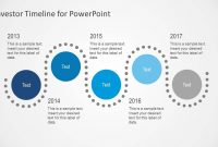 Investor Timeline Slides For Powerpoint regarding Investor Presentation Template