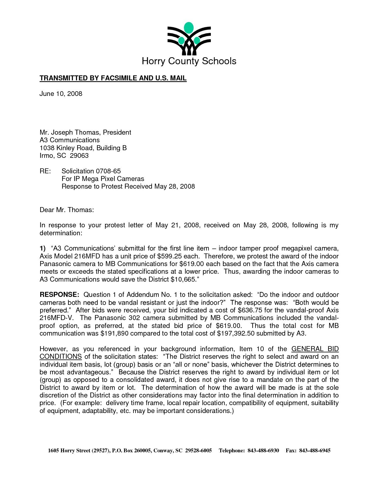 Irs Appeal Letter Sample  Demozaiektuin For Irs Response Letter Template