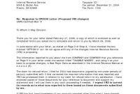 Irs Response Letter  Demozaiektuin within Irs Response Letter Template