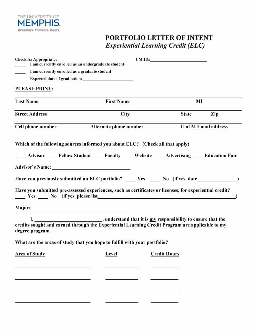 Letter Of Intent Templates  Samples For Job School Business Throughout Letter Of Credit Draft Template