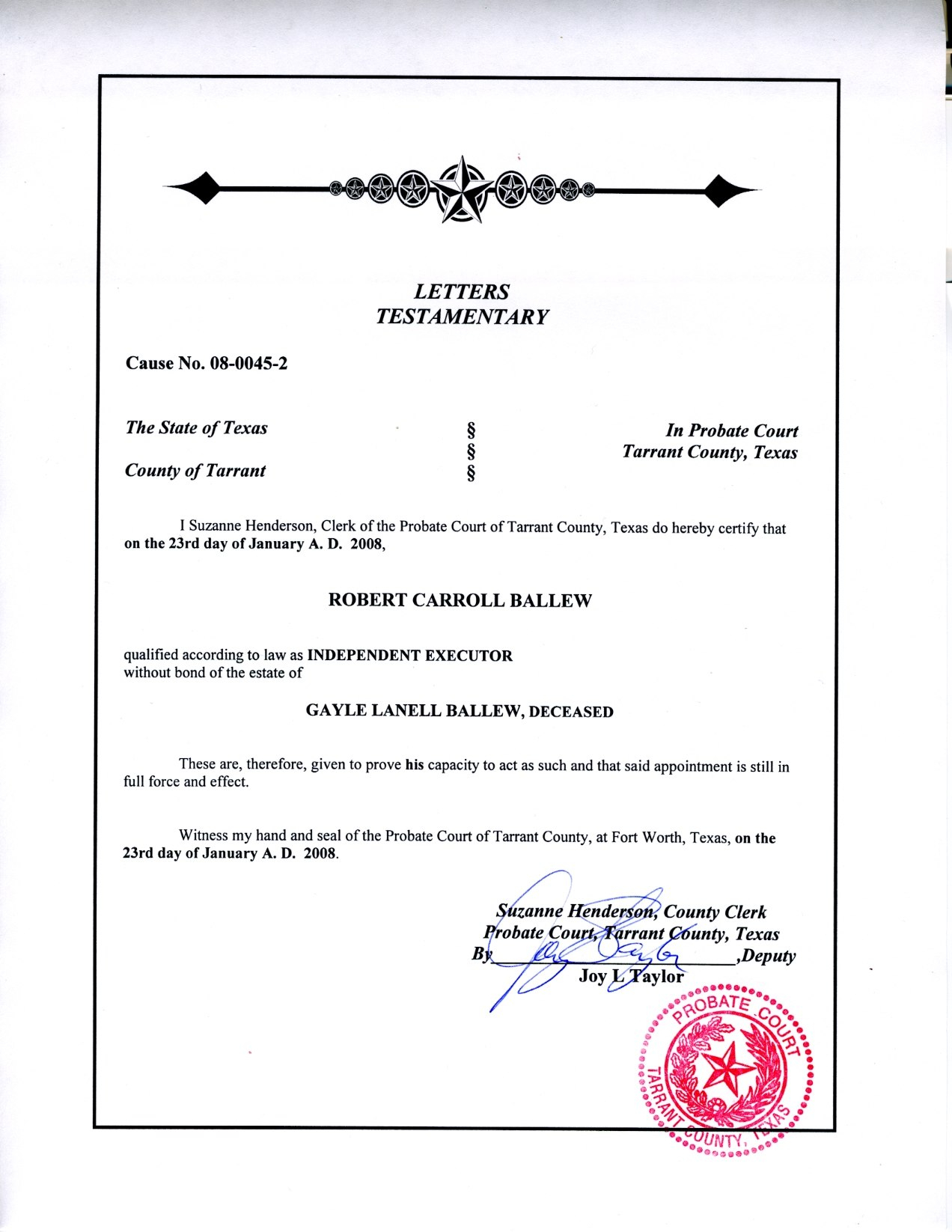 Letter Of Probate  Flakkeeweer Throughout Probate Valuation Letter Template