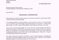 Letter To Councillor Template – Humman inside Pre Action Protocol Letter Template
