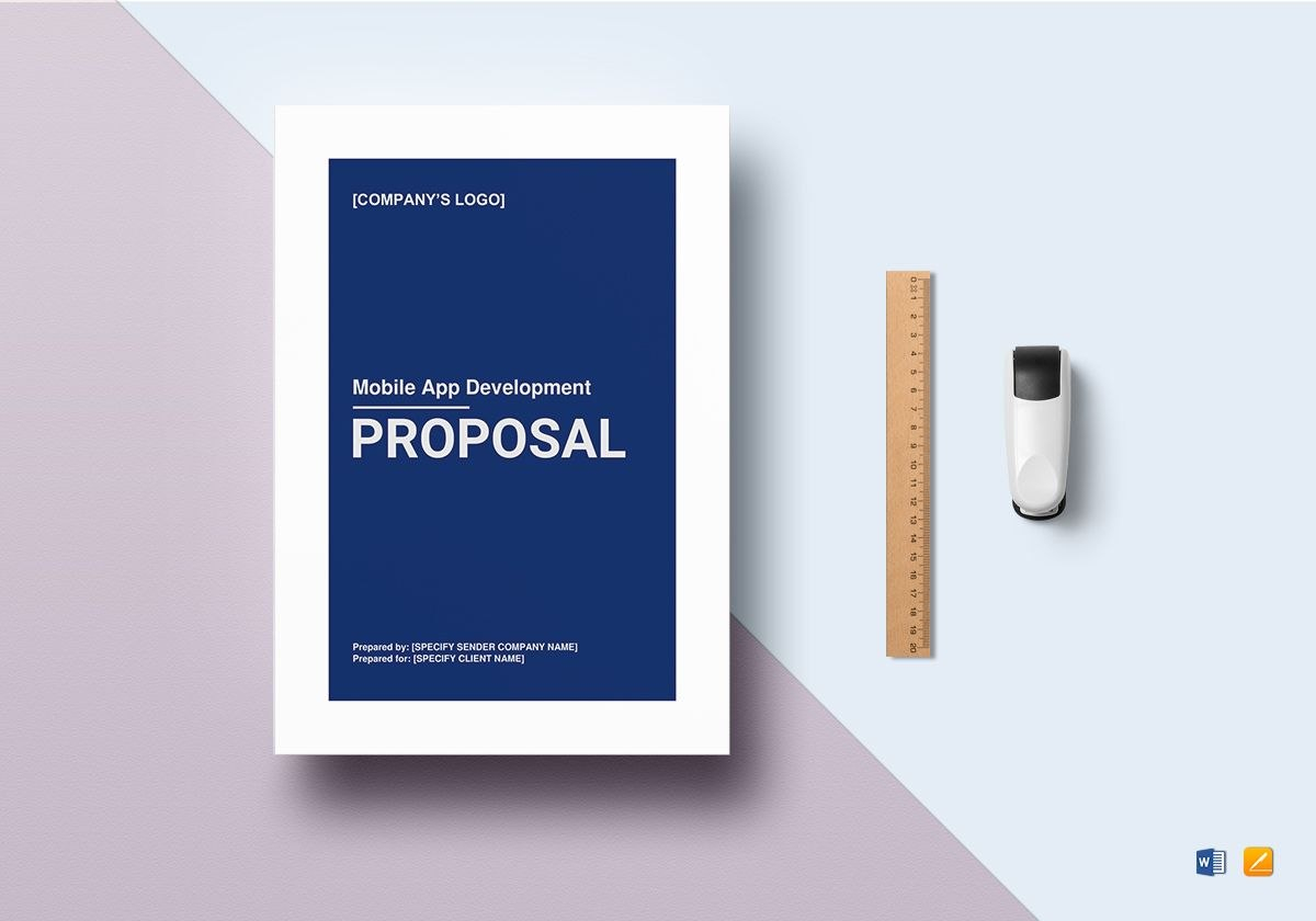 Mobile App Development Proposal Template Pertaining To App Proposal Template