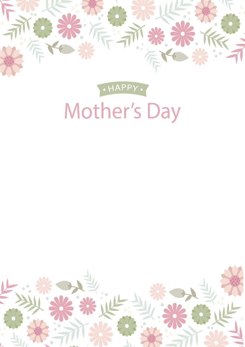 Mother's Daydocx  Writer Templates  Wps Template In Mother's Day Letter Template