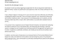 Nursing Cover Letter Example  Resume Genius regarding Rn Cover Letter Template