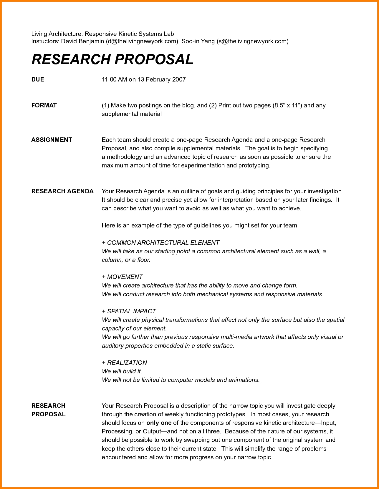 One Page Proposal Template Ideas Project Intended Unusual In One Page Proposal Template