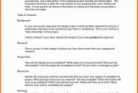 One Page Proposal Template One Paget Plan Student Example pertaining to Internal Proposal Template