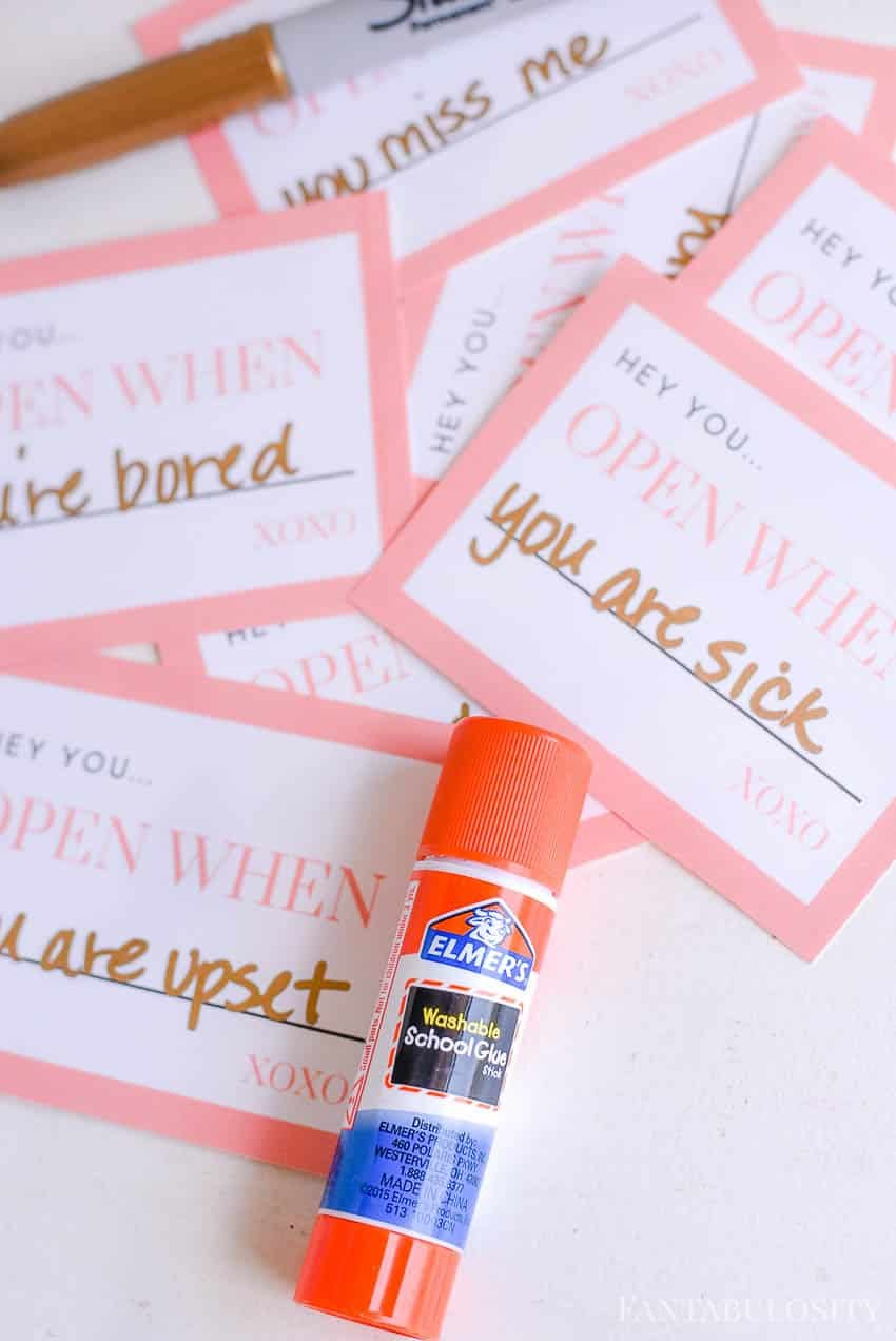 Open When Letter Ideas   Free Printables Sayings To Choose From Within Open When Letters Template