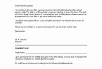 Parent Consent Letter For Travel Template Collection  Letter in Consent Agenda Template