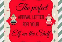 People I Want To Punch In The Throat The Perfect Arrival Letter For with Elf On The Shelf Arrival Letter Template