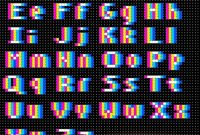 Perler Fuse Bead Offregister Letters  Pixel Art Ideas  Beading throughout Hama Bead Letter Templates