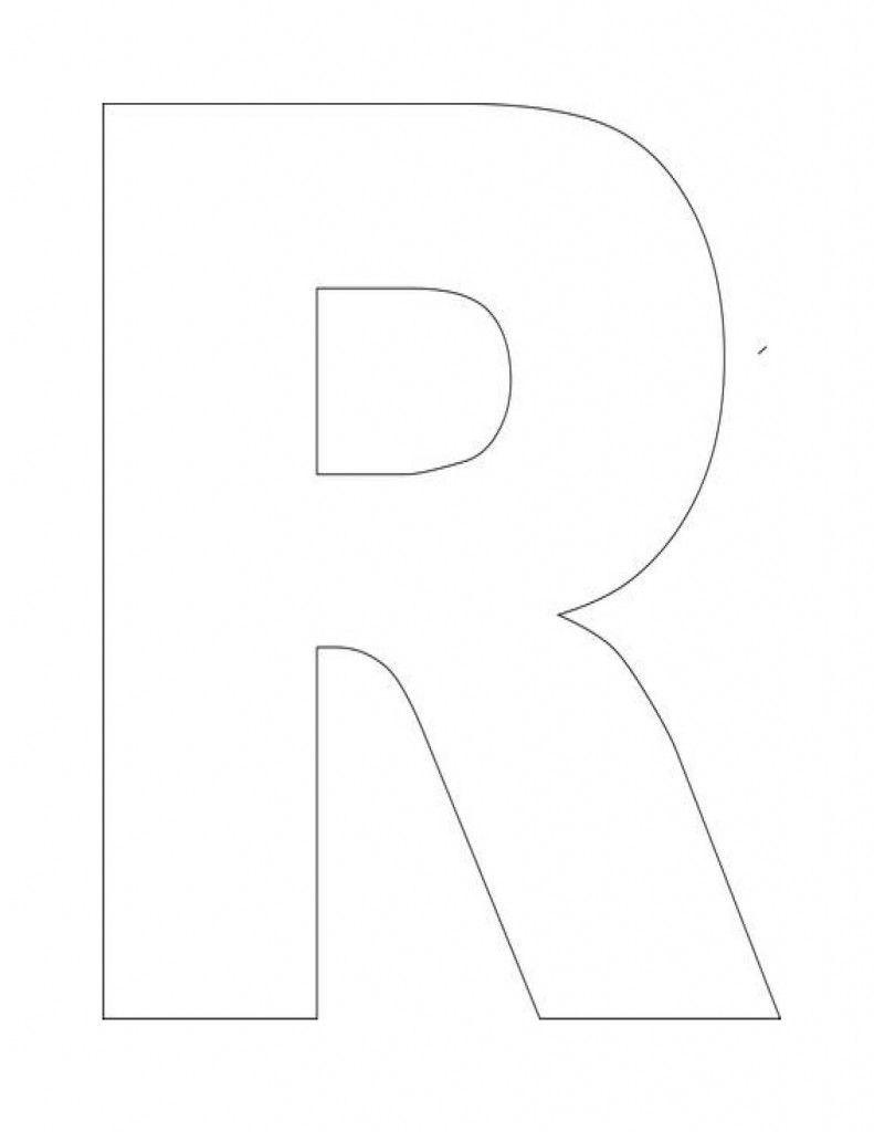 Pinjeannette Harrison Weimer On Preschool Ideasthe Letter R For Letter I Template For Preschool