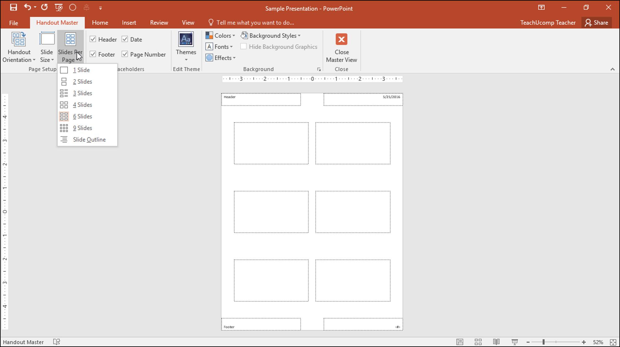 Powerpoint Brochures Templates Handout Template Presentation With Presentation Handout Template
