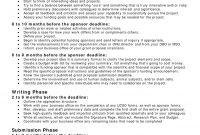 Printable Sample Business Proposal Template Form  Forms And for Written Proposal Template
