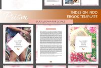 Prism Indesign Ebook Templatecoral Antler Creative On within Indesign Presentation Templates