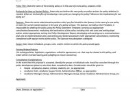 Professional Policy Proposal Templates  Examples ᐅ Template Lab intended for Policy Proposal Template