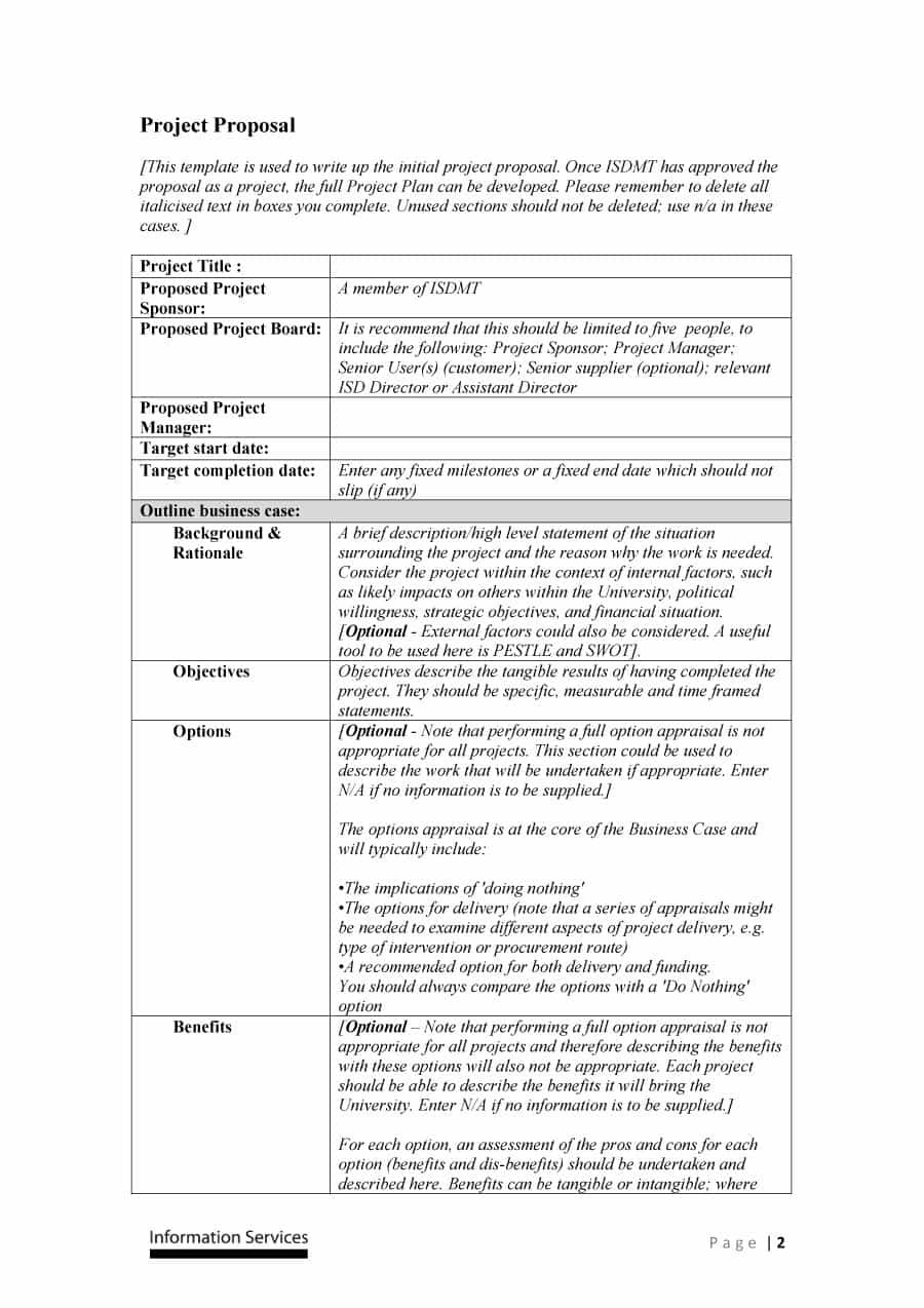 Professional Project Proposal Templates ᐅ Template Lab Intended For How To Write A Business Proposal Template