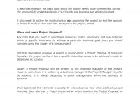 Project Proposal Template  Ape with Project Management Proposal Template