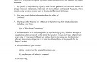 Proposal Letter To A Client  Sample Proposal Letter To A Client regarding Client Care Letter Template