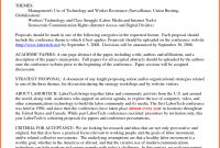 Proposal Researchs Executive Summary  Software Business One inside Conference Proposal Template
