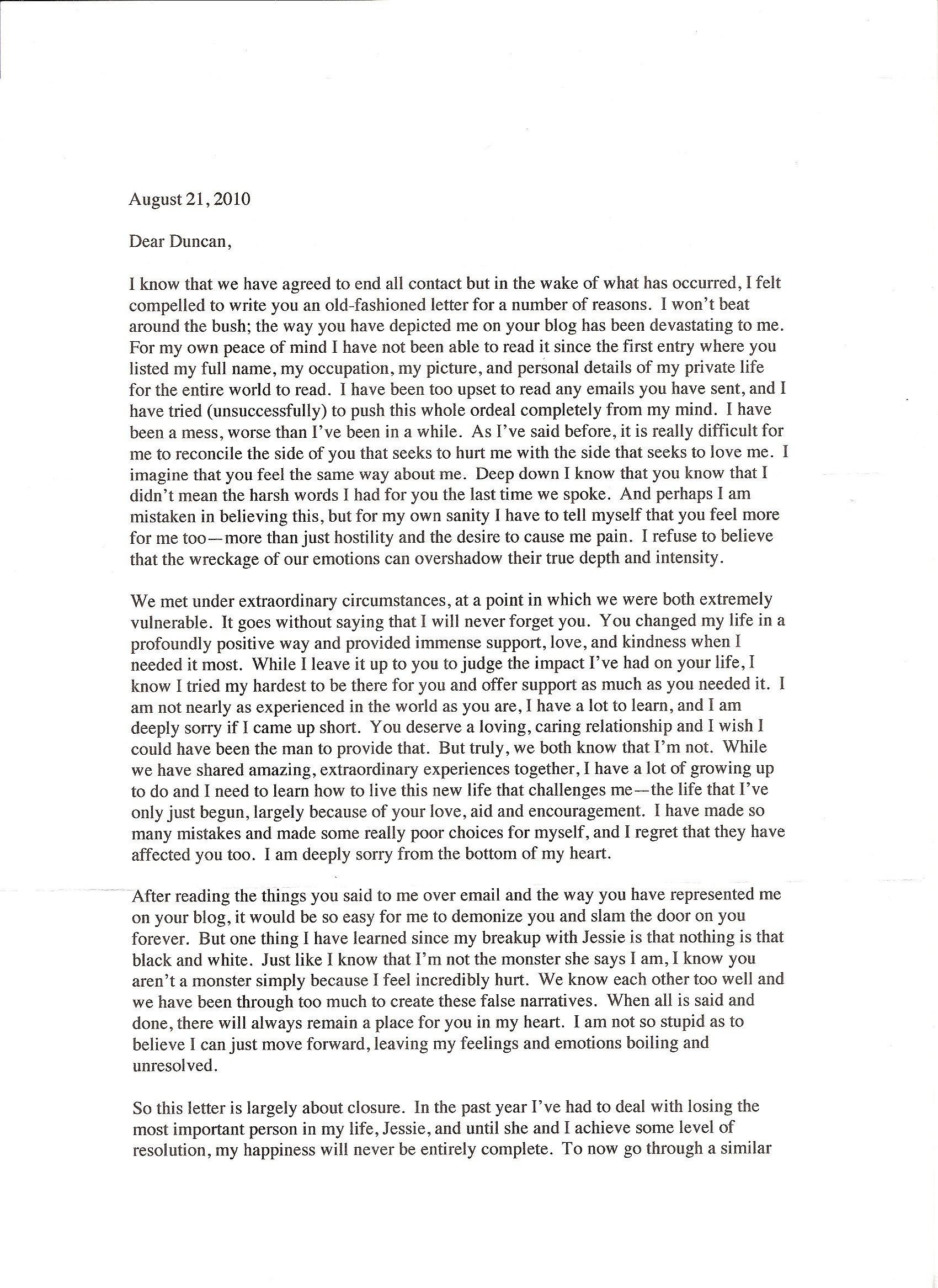 Puke  Duncan Roy's Blog With Regard To Supermarket Bag Packing Letter Template